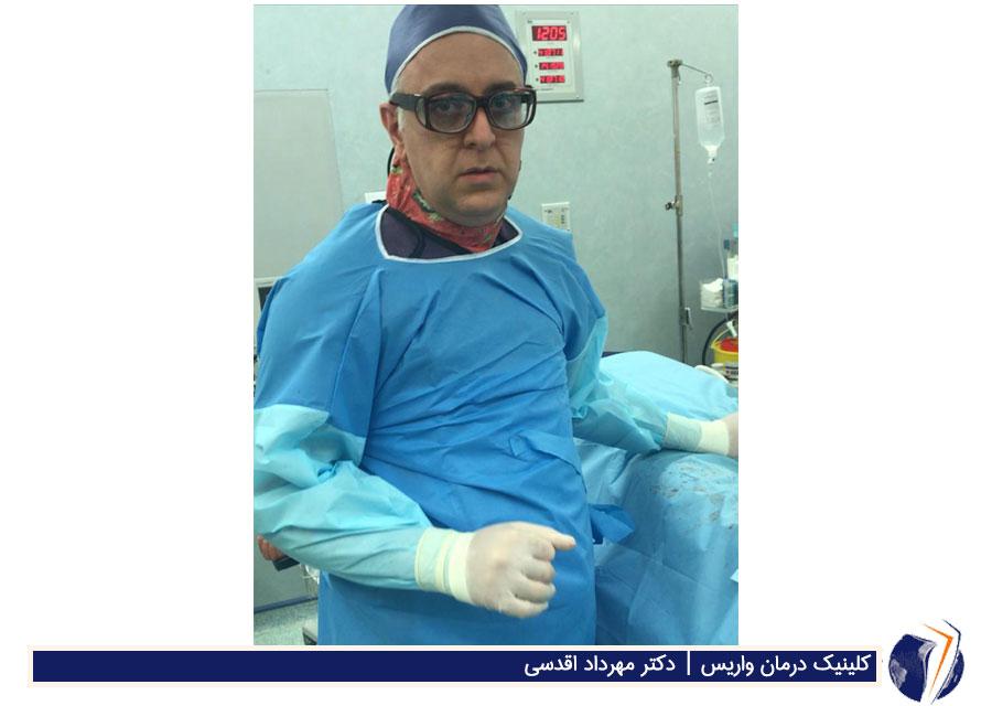 دکتر شروین نجفی زاده فوق تخصص جراحی عروق
