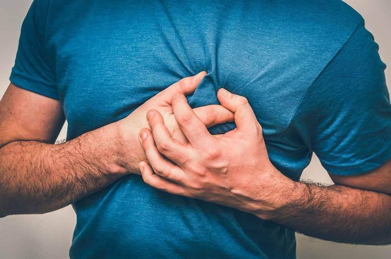 درد قفسه سینه در افراد